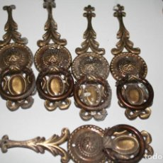 Antigüedades: LOTE DE ANTIGUOS TIRADORES. Lote 135649731