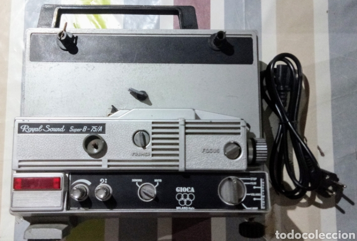 Antigüedades: PROYECTOR SUPER 8 ROYAL SOUND 75/A - Foto 1 - 135729834