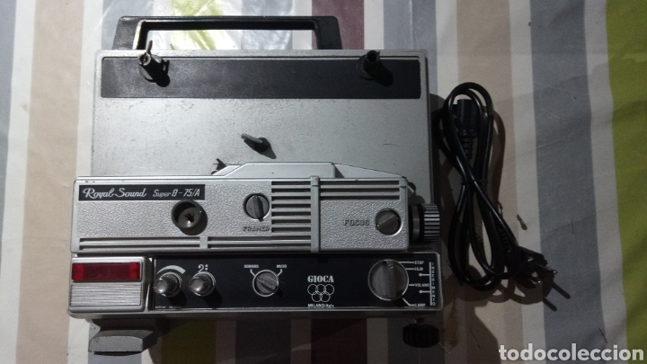 Antigüedades: PROYECTOR SUPER 8 ROYAL SOUND 75/A - Foto 2 - 135729834
