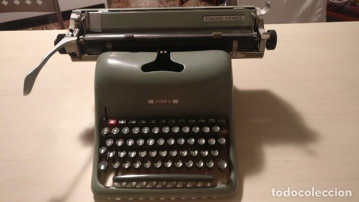 MÁQUINA DE ESCRIBIR HISPANO OLIVETTI LEXICON 80 (Antigüedades - Técnicas - Máquinas de Escribir Antiguas - Otras)