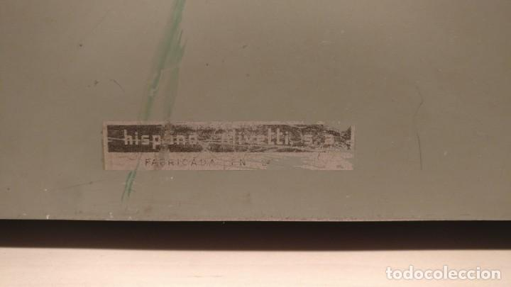 Antigüedades: Máquina de escribir Hispano Olivetti Lexicon 80 - Foto 3 - 135753202