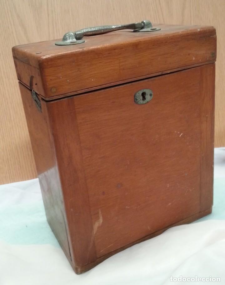 Antigüedades: Instrumental sistema urogenital. Principios de 1900. Muy extraño. Buen estado general.. - Foto 7 - 135783726