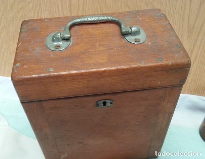 Antigüedades: Instrumental sistema urogenital. Principios de 1900. Muy extraño. Buen estado general.. - Foto 8 - 135783726