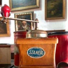 Antigüedades: MOLINILLO DE CAFÉ STANER. Lote 135931190