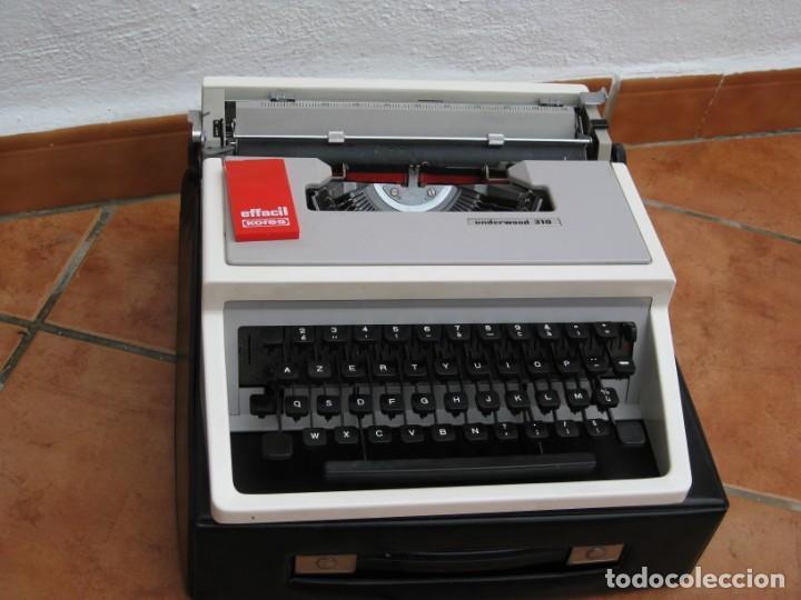 Antigüedades: Maquina escribir Underwood 310 - Foto 2 - 136048262