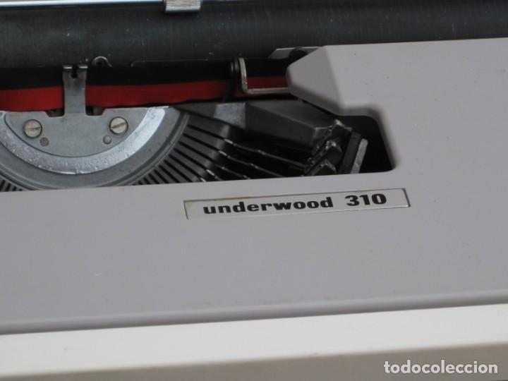 Antigüedades: Maquina escribir Underwood 310 - Foto 5 - 136048262
