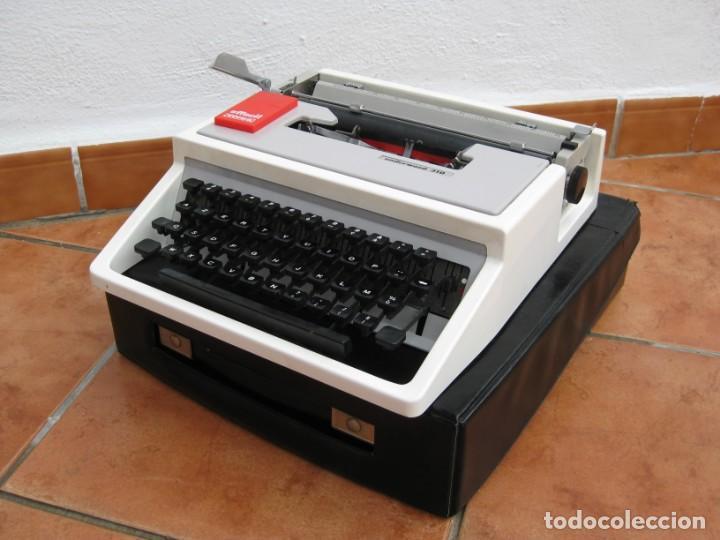 Antigüedades: Maquina escribir Underwood 310 - Foto 7 - 136048262