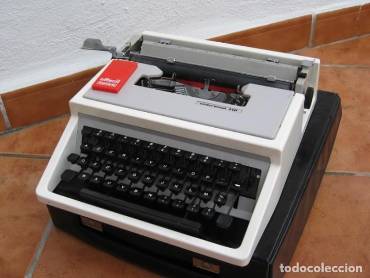 Antigüedades: Maquina escribir Underwood 310 - Foto 8 - 136048262