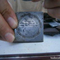 Antigüedades: ¡FARMACIA DROGUERIA¡MARTINEZ.CABALLERO.¡¡PONFERRADA¡¡¡MOLDE DE INPRENTA ,PUBLICITARIO¡AÑOS 30 40¡UNI. Lote 136156414
