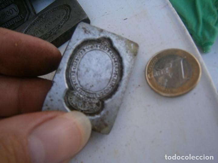 Antigüedades: ¡¡¡¡MOLDE DE IMPRENTA¡PUBLICITARIO,AÑOS 30 40¡UNICO EN TC¡ - Foto 2 - 136174846