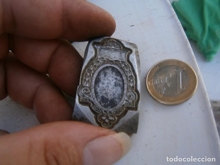 Antigüedades: ¡¡MOLDE DE IMPRENTA¡PUBLICITARIO,AÑOS 30 40¡UNICO EN TC¡ - Foto 2 - 136174910