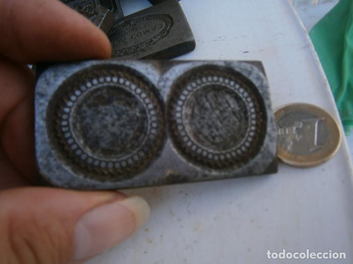 Antigüedades: ¡¡MOLDE DE IMPRENTA¡PUBLICITARIO,AÑOS 30 40¡UNICO EN TC¡ - Foto 2 - 136174958