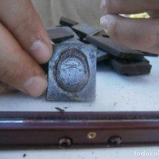 Antiquitäten - ¡¡ FABRICACION ESPAÑOLA¡¡¡¡MOLDE DE IMPRENTA¡PUBLICITARIO,AÑOS 30 40¡UNICO EN TC¡ - 136176246