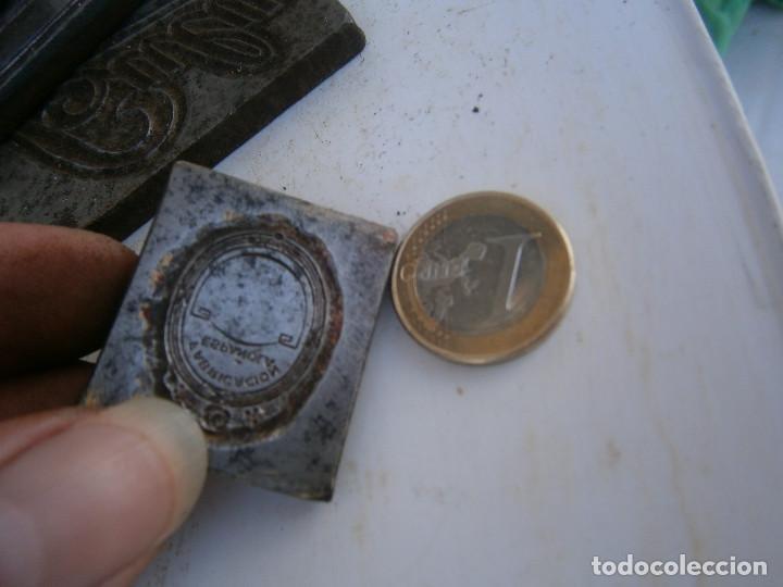 Antigüedades: ¡¡ FABRICACION ESPAÑOLA¡¡¡¡MOLDE DE IMPRENTA¡PUBLICITARIO,AÑOS 30 40¡UNICO EN TC¡ - Foto 2 - 136176246