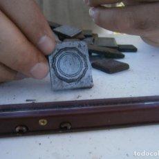 Antigüedades: ¡¡MOLDE DE IMPRENTA¡PUBLICITARIO,AÑOS 30 40¡UNICO EN TC¡. Lote 136176470