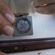 Antigüedades: ¡¡MOLDE DE IMPRENTA¡PUBLICITARIO,AÑOS 30 40¡UNICO EN TC¡. Lote 136178758
