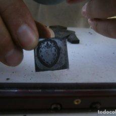 Antigüedades: ¡¡MOLDE DE IMPRENTA¡PUBLICITARIO,AÑOS 30 40¡UNICO EN TC¡. Lote 136178982