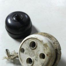 Antigüedades: MATERIAL ELECTRICO. Lote 136215070