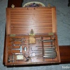 Antigüedades: CAJA DE INSTRUMENTAL MEDICO FORENSE. Lote 136249846