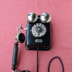 Teléfonos: ANTIGUO TELEFONO DE PARED DE LA MARCA TELEFONAKTIEBOLAGET, L. M. ERICSSON, AÑO: 1926. Lote 136276758