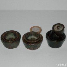 Antigüedades: LOTE PONDERALES DE VASO, ALGUNOS SIGLO XVII APROX. . Lote 136281590
