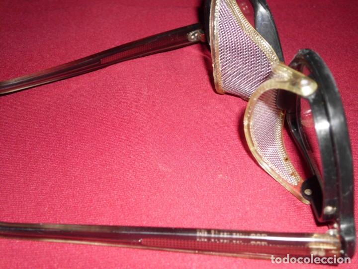 Antigüedades: Antiguas gafas de protección marca Pegaso Made In Spain - Foto 8 - 136283590