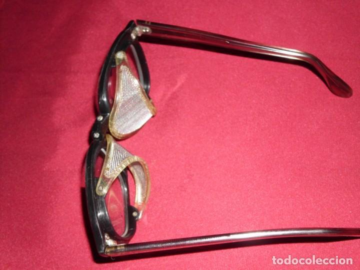 Antigüedades: Antiguas gafas de protección marca Pegaso Made In Spain - Foto 6 - 136283590