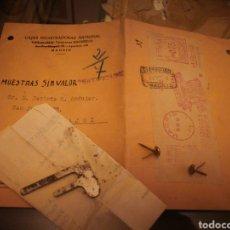 Antigüedades: CAJAS REGISTRADORAS NATIONAL. PIEZA PARA REGISTRADORA. Lote 136309518
