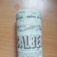 Antigüedades: CALBER POLVOS TALCO O IGIENICOS. Lote 136374736
