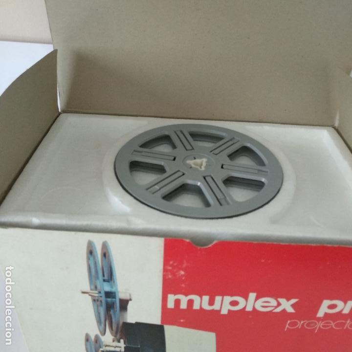 Antigüedades: Proyector MUPLEX PR3 SUPER 8 - FUNCIONANDO con su CAJA ORIGINAL - Muy buena condición - Foto 4 - 136429882