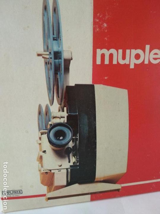 Antigüedades: Proyector MUPLEX PR3 SUPER 8 - FUNCIONANDO con su CAJA ORIGINAL - Muy buena condición - Foto 7 - 136429882