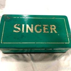 Antigüedades: CAJA SINGER CON COMPLEMENTOS. Lote 136447120