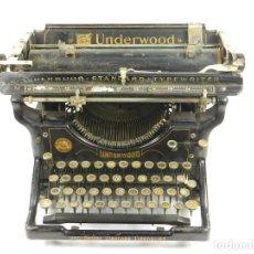 Antigüedades: UNDERWOOD Nº3 AÑO 1901. Lote 136517590
