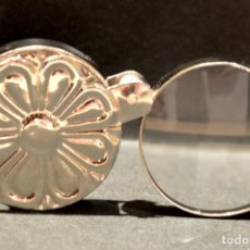 Antigüedades: BONITA LUPA PLEGABLE METÁLICA DE BOLSILLO . Lote 136726626