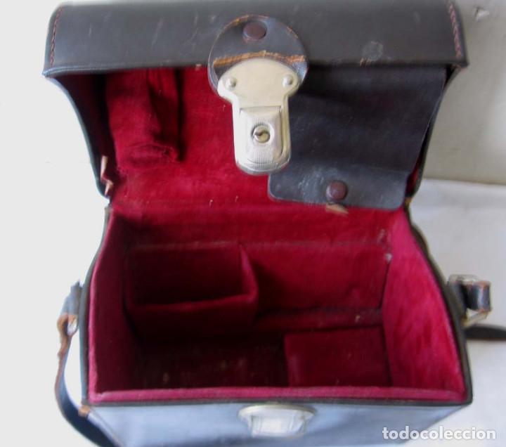 Antigüedades: TOMAVISTAS ARCO GIGHT - con su estuche de cuero - Foto 4 - 136758682