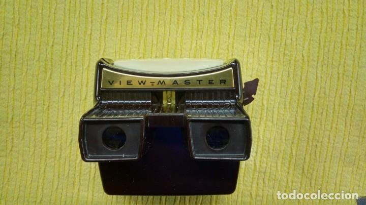 VISOR ANTIGUO DE BAQUELITA ESTEREOSCOPICO CON LUZ INTERIOR MARCA WIEW MASTER (Antigüedades - Técnicas - Aparatos de Cine Antiguo - Visores Estereoscópicos Antiguos)