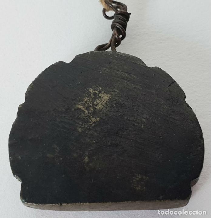 Antigüedades: BALANZA CHINA DE PRECISIÓN PARA OPIO. ESTUCHE DE MADERA. SIGLO XIX. - Foto 3 - 136793998