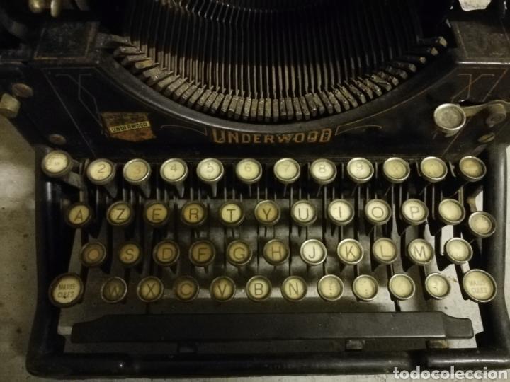 Antigüedades: Máquina de escribir Underwood - Foto 2 - 136975254
