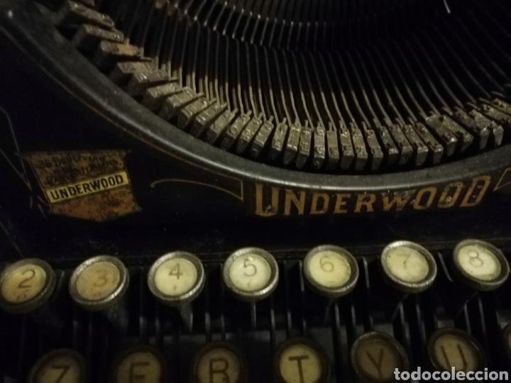 Antigüedades: Máquina de escribir Underwood - Foto 3 - 136975254