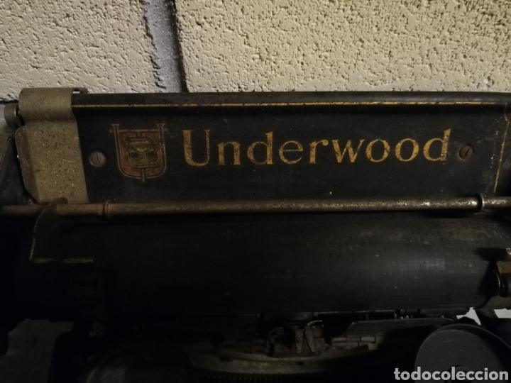 Antigüedades: Máquina de escribir Underwood - Foto 4 - 136975254
