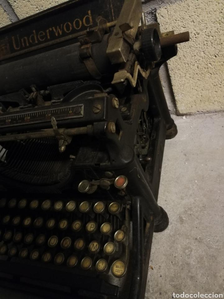 Antigüedades: Máquina de escribir Underwood - Foto 5 - 136975254