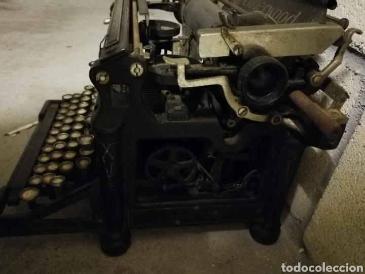 Antigüedades: Máquina de escribir Underwood - Foto 6 - 136975254