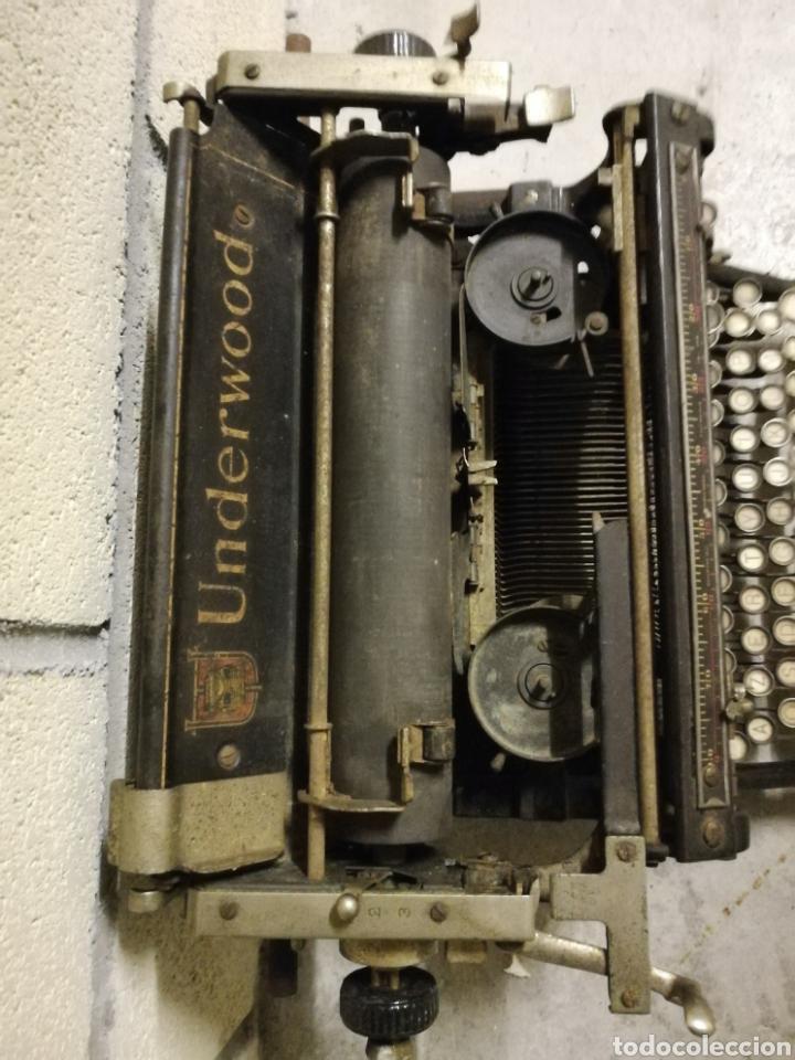 Antigüedades: Máquina de escribir Underwood - Foto 7 - 136975254