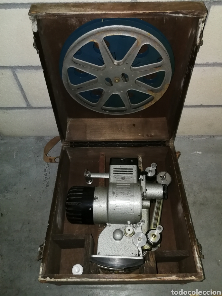 Antigüedades: Proyector de cine 16mm - Foto 3 - 136980526