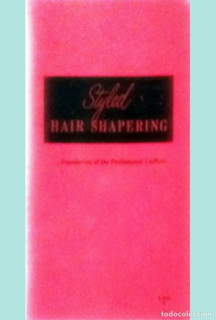 Antigüedades: WECK HAIR SHAPER-SET CON NAVAJA,HOJAS PEINE + LIBRO,PARA HACER PEINADOS ESTILO. ANTIGUOS.NUEVO. USA. - Foto 3 - 137018002