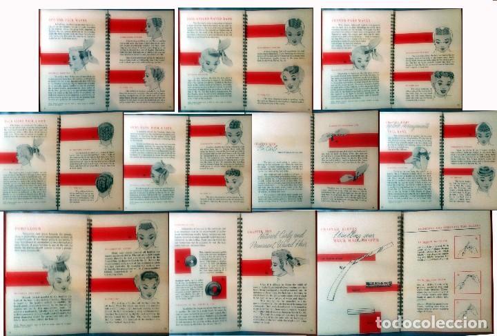 Antigüedades: WECK HAIR SHAPER-SET CON NAVAJA,HOJAS PEINE + LIBRO,PARA HACER PEINADOS ESTILO. ANTIGUOS.NUEVO. USA. - Foto 6 - 137018002