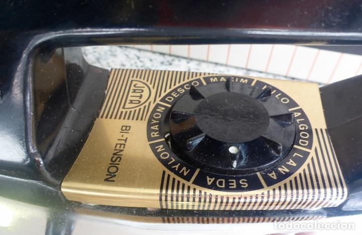 Antigüedades: Plancha Jata 556 Bi Tensión (220/120) con caja. Vintage Años 60. Impecable. - Foto 8 - 137106434
