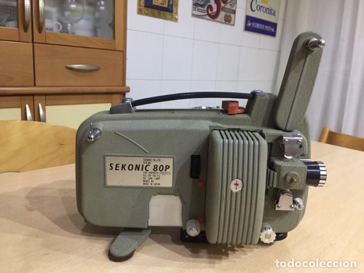 SEKONIC 80P (Antigüedades - Técnicas - Aparatos de Cine Antiguo - Proyectores Antiguos)