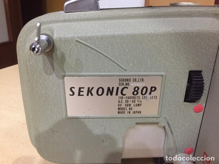 Antigüedades: SEKONIC 80P - Foto 6 - 137108062