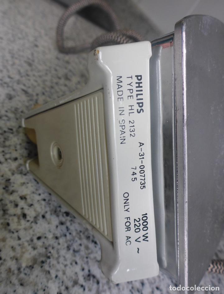 Antigüedades: Plancha Philips HL-2132. Años 70. - Foto 8 - 137115246